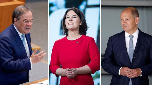 Umfrage Bundestagswahl: Das denken Wähler wirklich über Laschet, Baerbock und Scholz