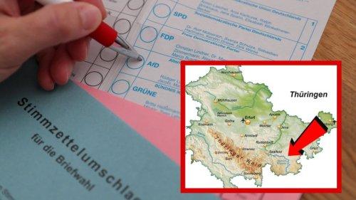 Thüringen: Unfassbare Zahlen! Diese Gemeinde ist die AfD-Hochburg