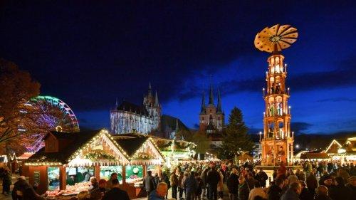 Erfurter Weihnachtsmarkt: Stadt hat 2G-Regel beschlossen