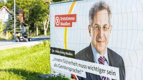 Hans-Georg Maaßen: Ausgerechnet mit ihm macht er Wahlkampf
