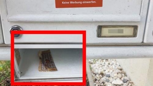 Jena: Frau findet Fleisch in arabisches Schriftstück im Briefkasten