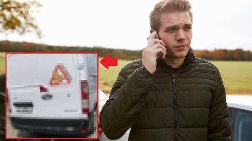 Apolda: Bei diesem Transporter, sollte du die Polizei rufen