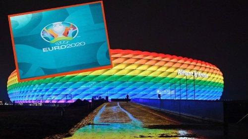 EM 2021: Uefa verbietet Regenbogen-Arena – jetzt formiert sich Protest