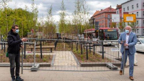 Erfurt: Bekannter Platz umgestaltet – mit Folgen für einige Menschen