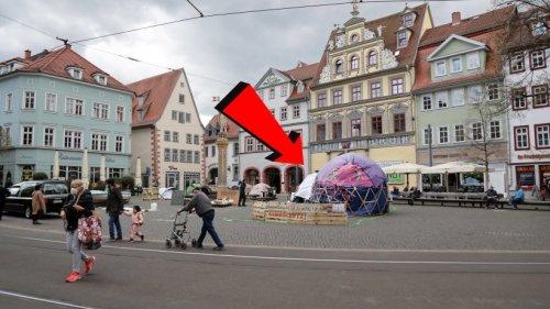 """Erfurt: SIE sind wieder da – Anwohner genervt: """"Was soll der Scheiß?"""""""
