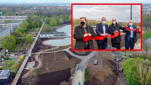 Erfurt: Neuer Riesen-Teich ist fertig – doch es gibt einen Haken