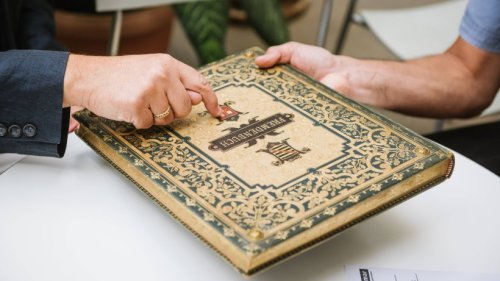 Rudolstadt: Altes Gästebuch aufgetaucht – darin verbirgt sich etwas