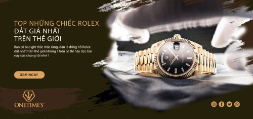 Top nhưng chiếc đồng hồ Rolex đắt nhất trên thế giới
