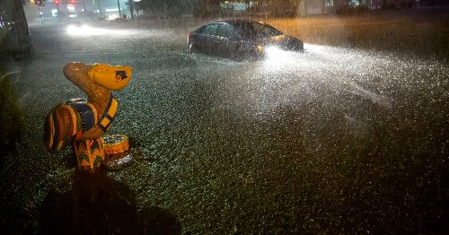 Tropical Storm Claudette Brings Rain and Floods to Gulf Coast