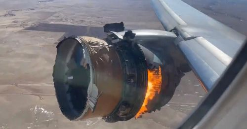 FAA Grounds Boeing 777 Planes and Orders Thermal Inspections After Engine Blew Apart