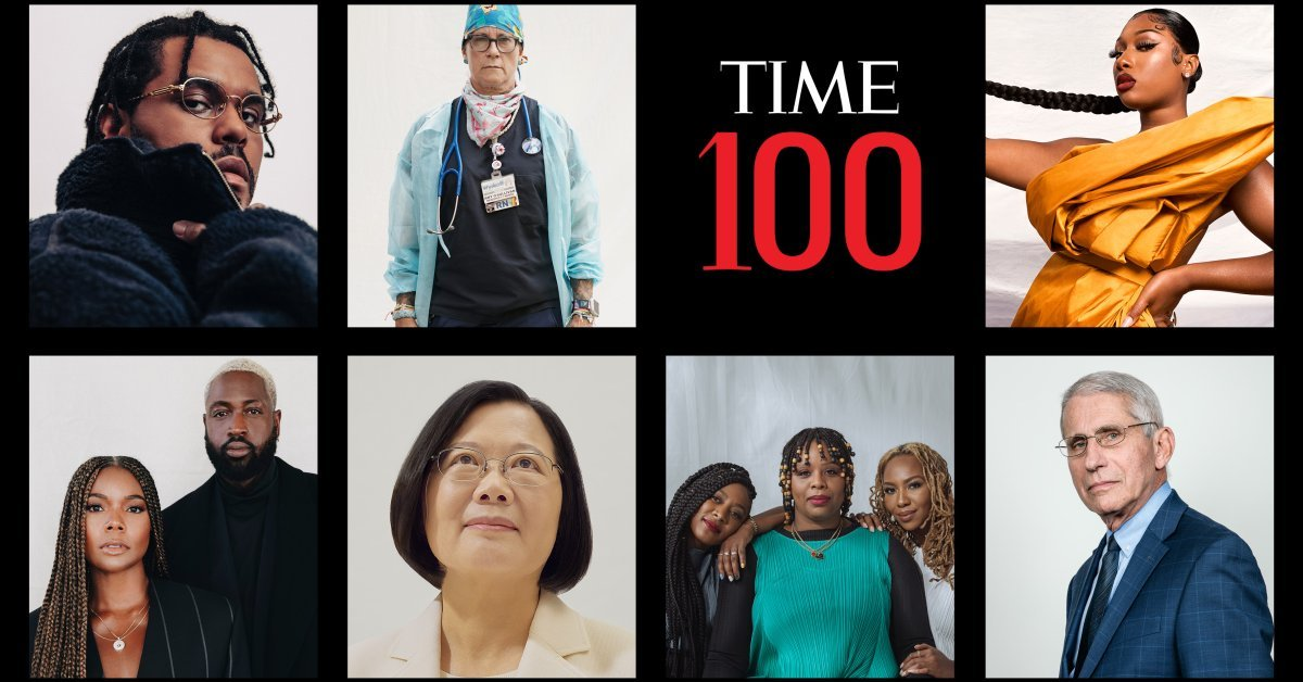 The 100 Most Influential People of 2020