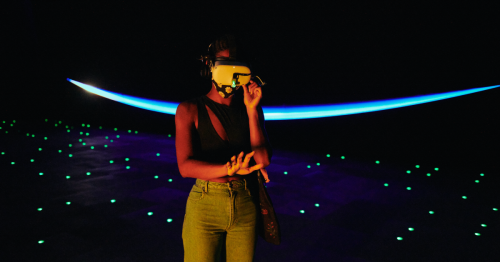 'The Infinite' Virtual Reality Exhibit Offers a Taste of Life in Outer Space