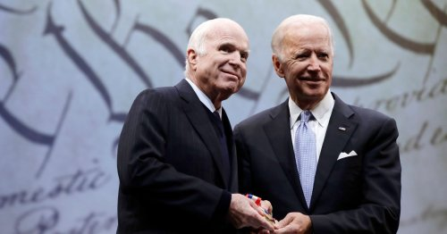 John McCain and Joe Biden's Friendship Shows Us How Politics is Supposed to Work