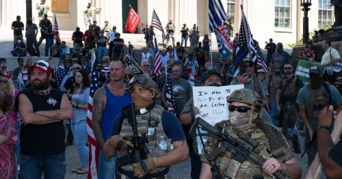 RIGHT WING EXTREMISTS  cover image