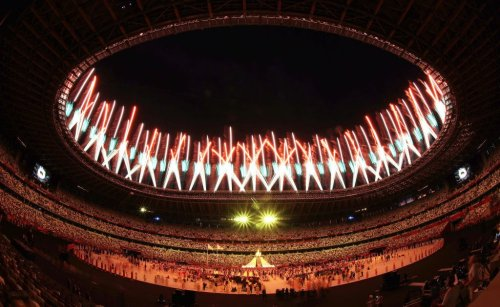What You Didn't See on TV at the Tokyo Olympics Opening Ceremony