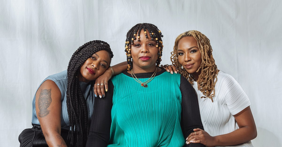 Black Lives Matter Founders Alicia Garza, Patrisse Cullors and Opal Tometi