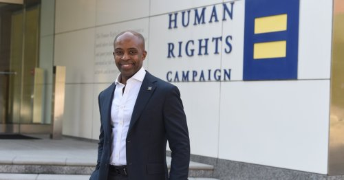 'Our Opponents Are Getting Desperate.' Human Rights Campaign President Alphonso David on the Ongoing Fight for LGBTQ Rights