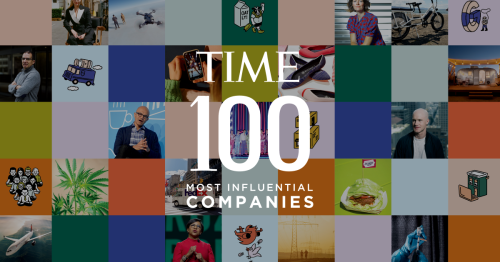 TIME100 Most Influential Companies - cover