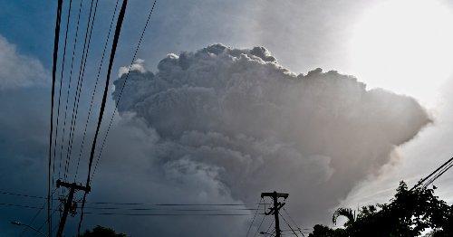 Explosive Eruption Rocks Volcano in St. Vincent