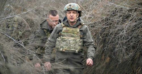 'They Want the West to Be Frightened.' Ukraine's President on Why Russia Sent Troops to the Border