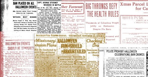 It's Hard to Enforce Pandemic Health Rules on Halloween. Just Look at What Happened in 1918