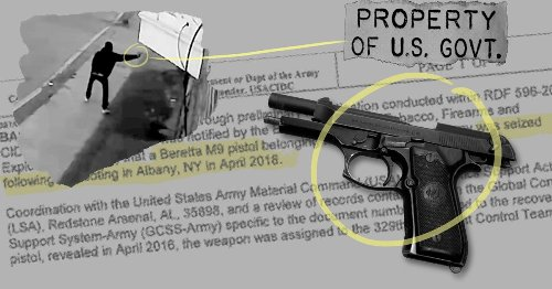 AP: At Least 1,900 U.S. Military Guns Lost or Stolen During the Past Decade