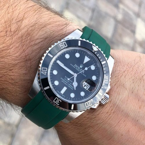 Until we get more Oysterflex, these are the best Rolex rubber strap options on the market