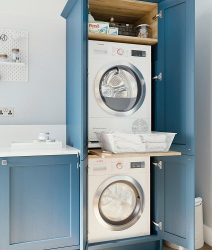 Narrow utility room ideas – design tips for maximising compact utility spaces