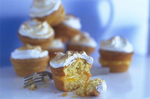 Lemon Meringue Muffins   American Recipes   GoodtoKnow