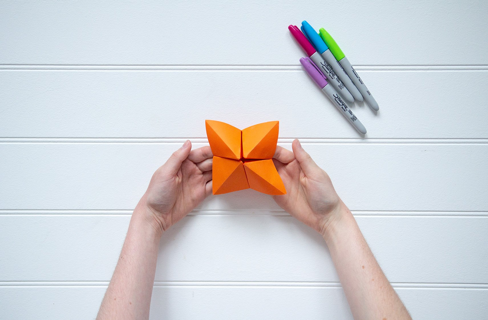 How to make a chatterbox (also known as a fortune teller)