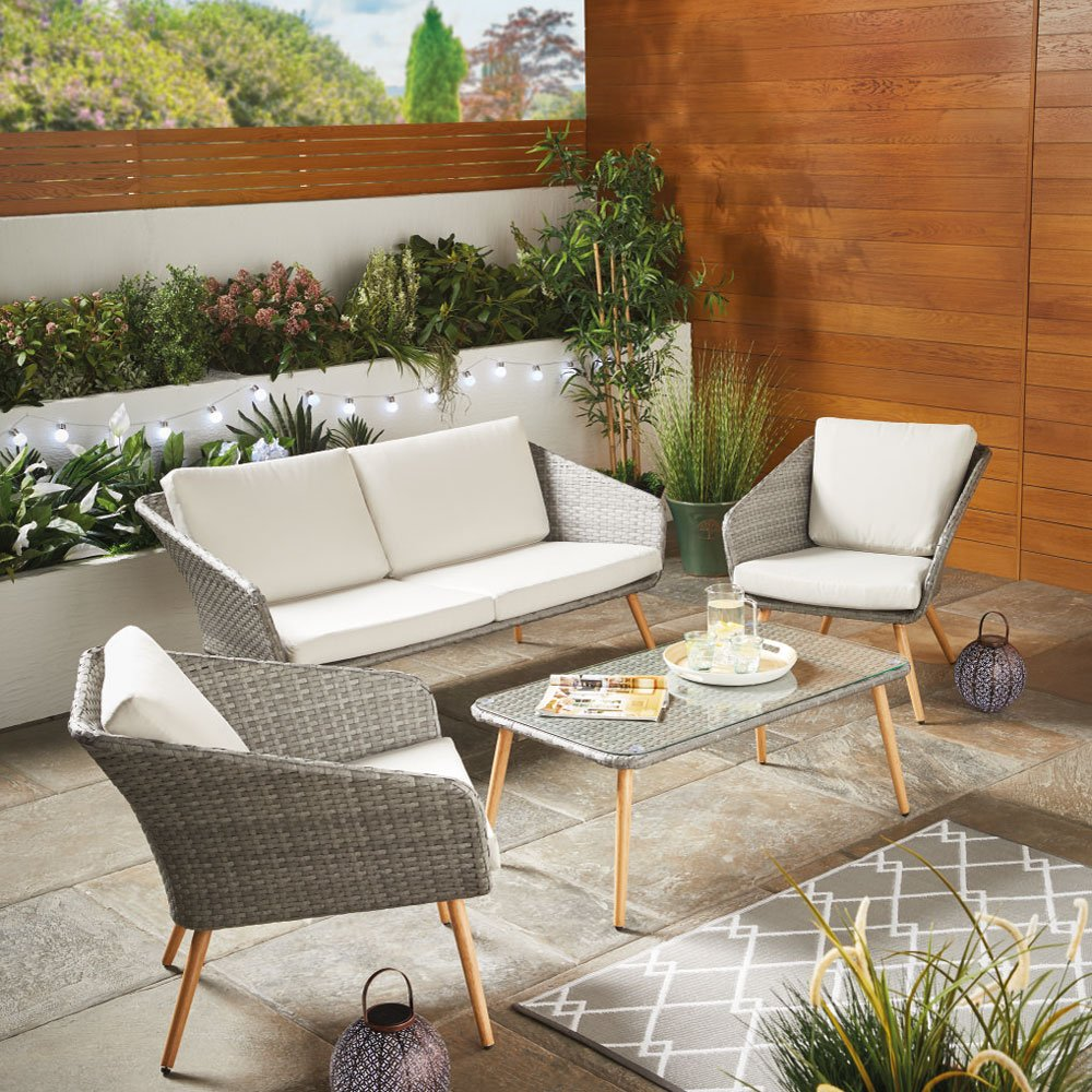 Aldi is selling an on-trend wicker garden coffee set for under £300 in time for the heatwave