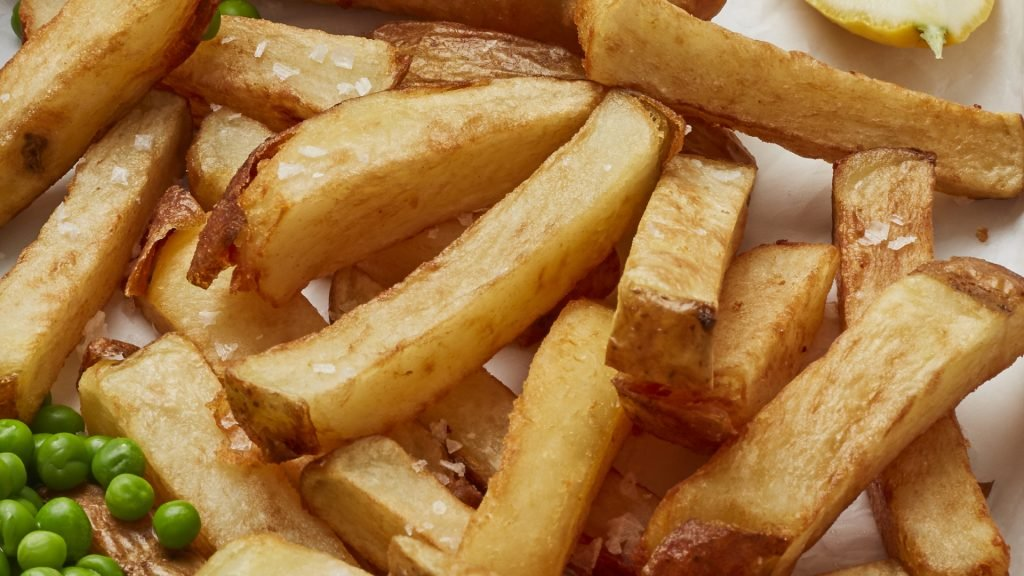 How to make triple-cooked chips