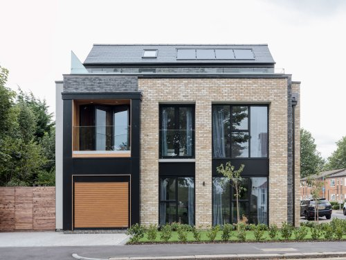 Step inside this new-build property filled with colour and character