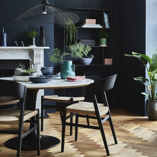 Dining room colour schemes – decorate your eating area with bold, beautiful, lively shades