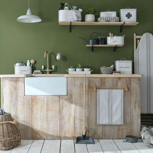 Country utility room ideas to create a classic laundry room to love