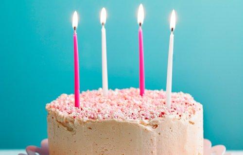 Nadiya Hussain's Confetti Birthday Cake