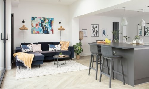 Layout changes and savvy buys have transformed this 1970s Cheltenham family home