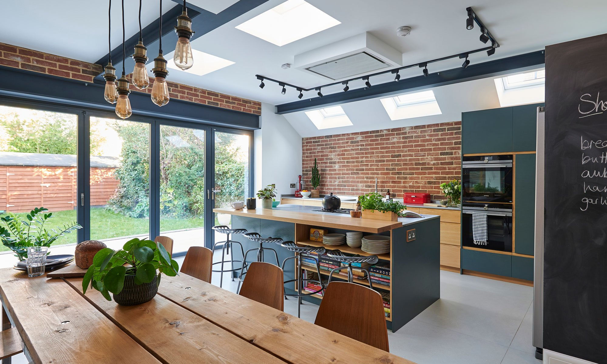 Before and after: Savvy planning saw homeowners extend tiny kitchen into a contemporary open plan space