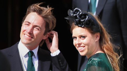 Princess Beatrice spotted with baby Sienna for first time since giving birth