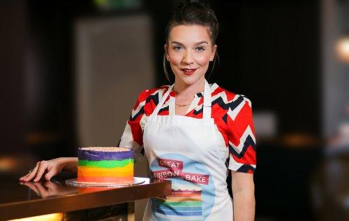 Candice Brown's Rainbow Cake