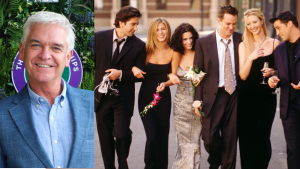 Phillip Schofield had a cameo in Friends - and it was 'genuinely moving'