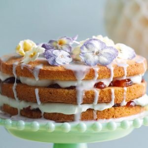 Elderflower Drizzle Cake