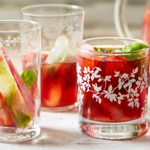 Strawberry And Basil Gin & Tonic