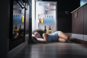 How to get to sleep in the heat on a summer night