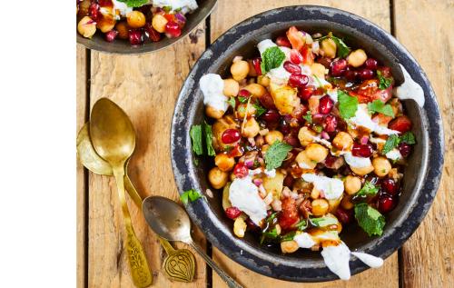 Chickpea Salad (channa Chaat)