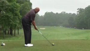 Social Media Reacts To Improved Charles Barkley Golf Swing