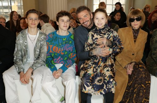 David and Victoria Beckham spark a debate after allowing daughter Harper to do this