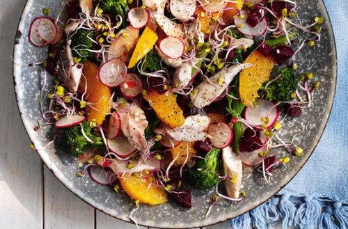 Slimming World Summer Mackerel Salad