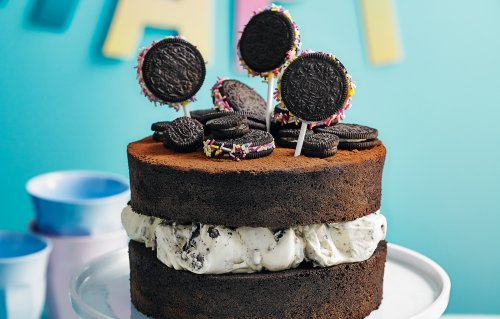 Easy Oreo Layer Cake