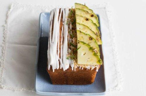 Pina Colada drizzle cake